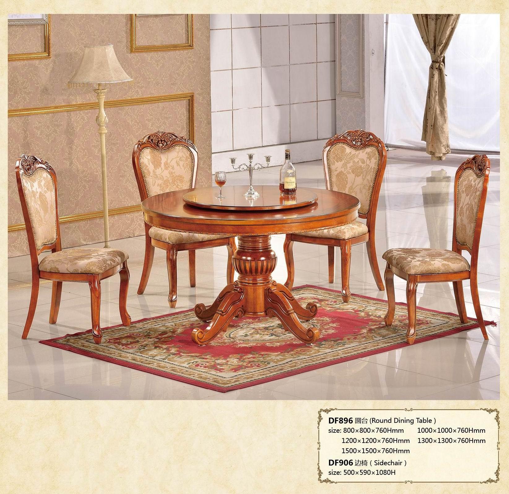 Rustic wooden dining room suits.jpg