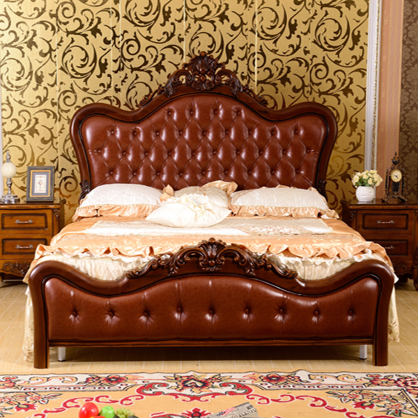 903 top leather king size twin size bed.jpg