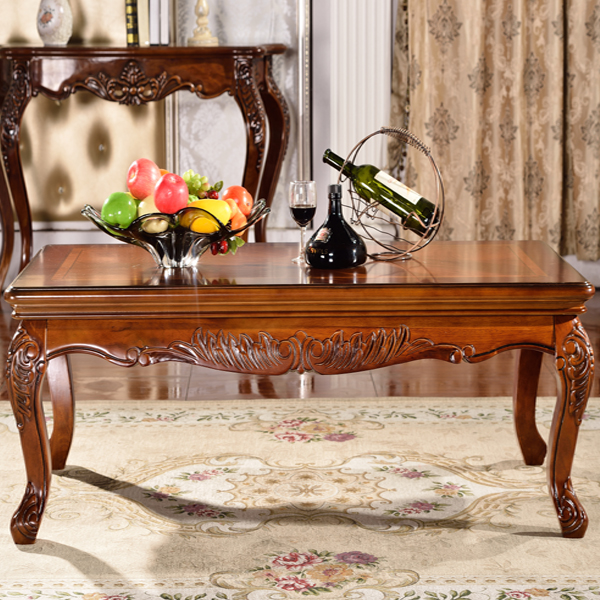 living room design antique tea table
