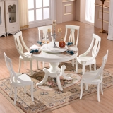 lazy susan 1.8m round big table set