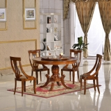 malaysia dining table set with lazy susan